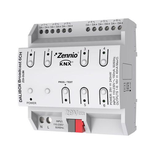 DALIBOX 6CH - Zennio - K.N.XTRA