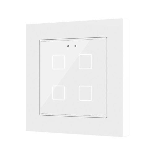 Flat 55 x4 White - Zennio - K.N.XTRA