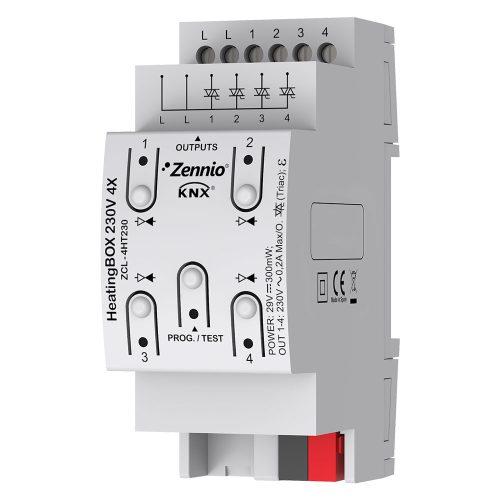 HeatingBOX 230V 4X - Zennio - K.N.XTRA