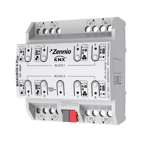 MAXinBOX 8 Plus - Zennio - K.N.XTRA