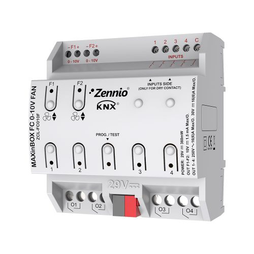 MAXinBOX FANCOIL 0-10V FAN - Zennio -K.N.XTRA