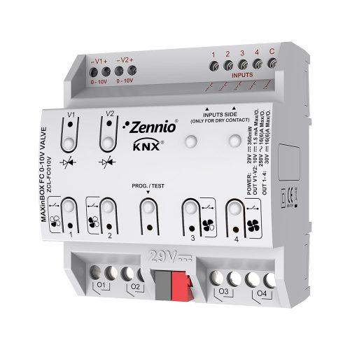 MAXinBOX FANCOIL 0-10V VALVE - Zennio - K.N.XTRA