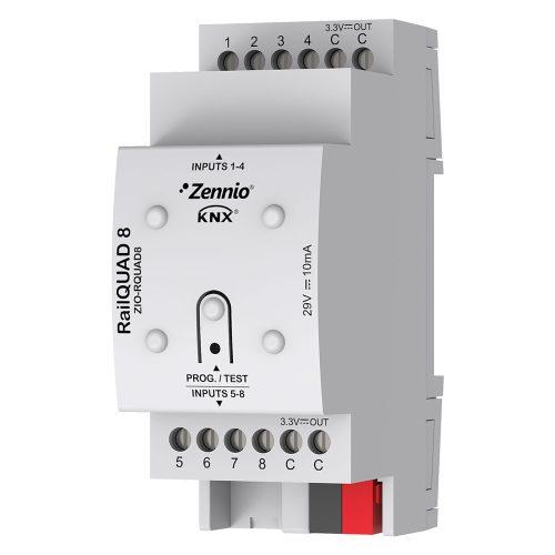 RailQUAD 8 - Zennio - K.N.XTRA