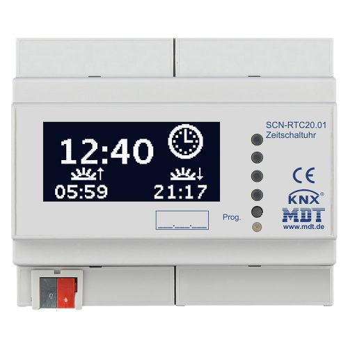 SCN-RTC2001 - Time Switch with LCD display, 6SU MDRC