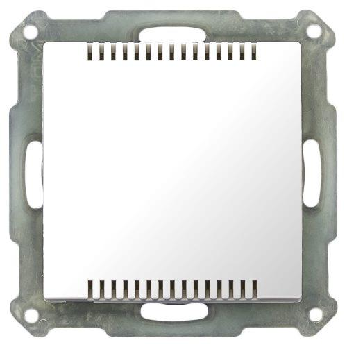 SCN-TS1UPG1 - Room Temperatur Sensor 1 fold, 55 mm, FM, White Shiny finish - Zennio - K.N.XTRA
