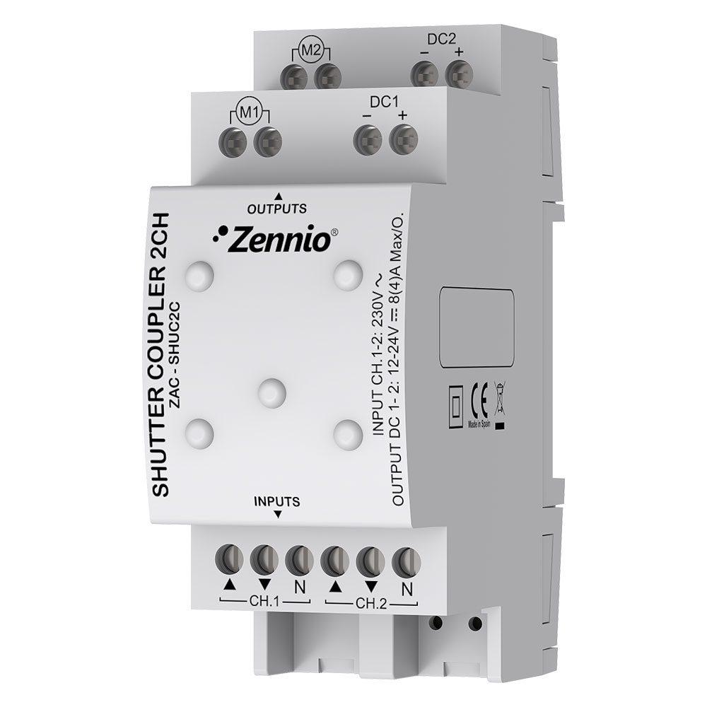 Shutter Coupler 2CH - Zennio - K.N.XTRA