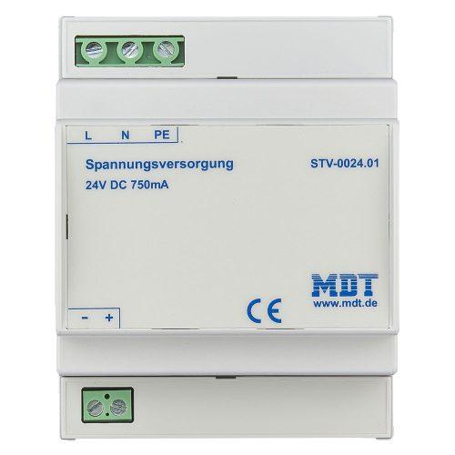 KNX power supply 640mA plus 29VDC ancillary power - knxtra co nz