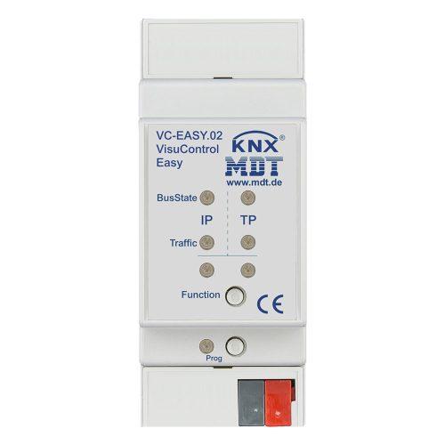VC-EASY02 - Objectserver VisuControl Easy, with iPhoneiPad App, Power supply via KNX bus - Zennio - K.N.XTRA