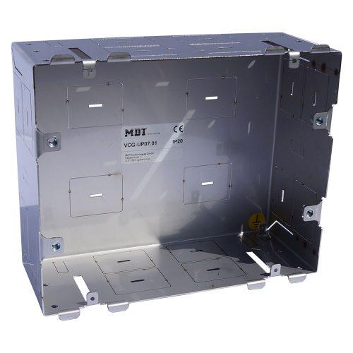 VCG-UP0701 - VisuControl, ACC, Flush mounted metal box, 7 - Zennio - K.N.XTRA