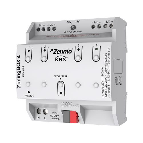 ZoningBOX 4 - Zennio - K.N.XTRA