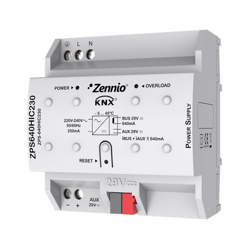 ZPS 640 HIC 230 Power Supply - Zennio - K.N.XTRA